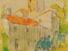 Le clocher roman, 1947