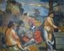 Le concert champêtre, hommage à Giorgione, 1969