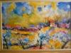 Paysage fleuri, 1990