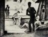 Canet-plage, crayon conté, 1969