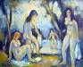 Quatre baigneuses, 1969
