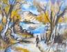 Sentier du racou, 1988