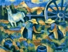 Les vendangeuses au cheval, 1977